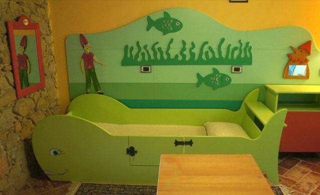 Agriturismo per bambini Umbria Il Cantico della Natura family room