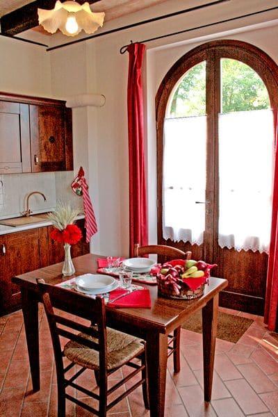 Agriturismo per famiglie in Umbria Casale degli Olmi appartamento