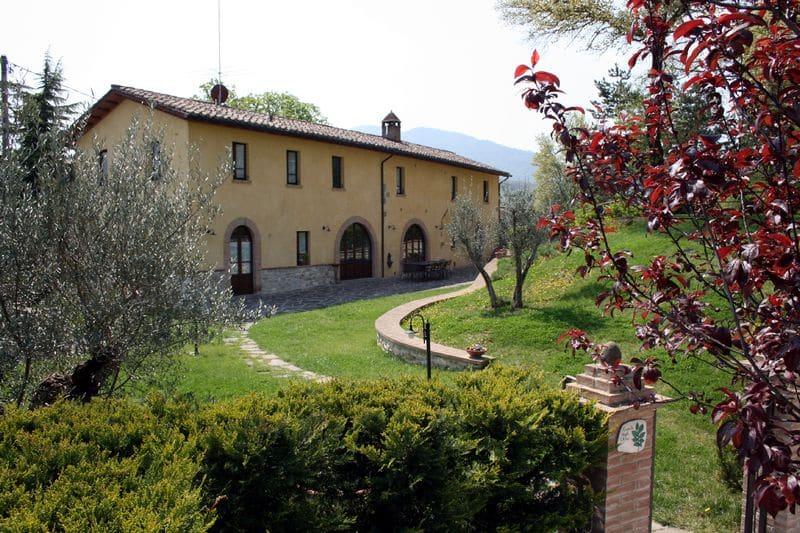 Agriturismo per famiglie in Umbria Casale degli Olmi, esterno