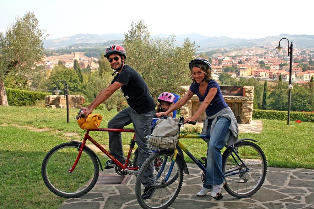 Agriturismo per famiglie in Umbria Casale degli Olmi per vacanze in bici