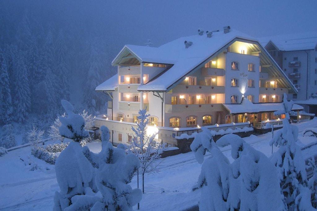 Hotel per famiglie in val di fiemme, Hotel Erica, inverno