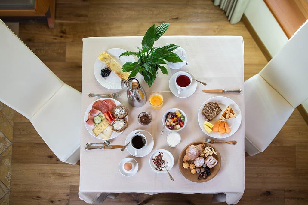 Hotel per famiglie in val di fiemme, Hotel Erica, colazione
