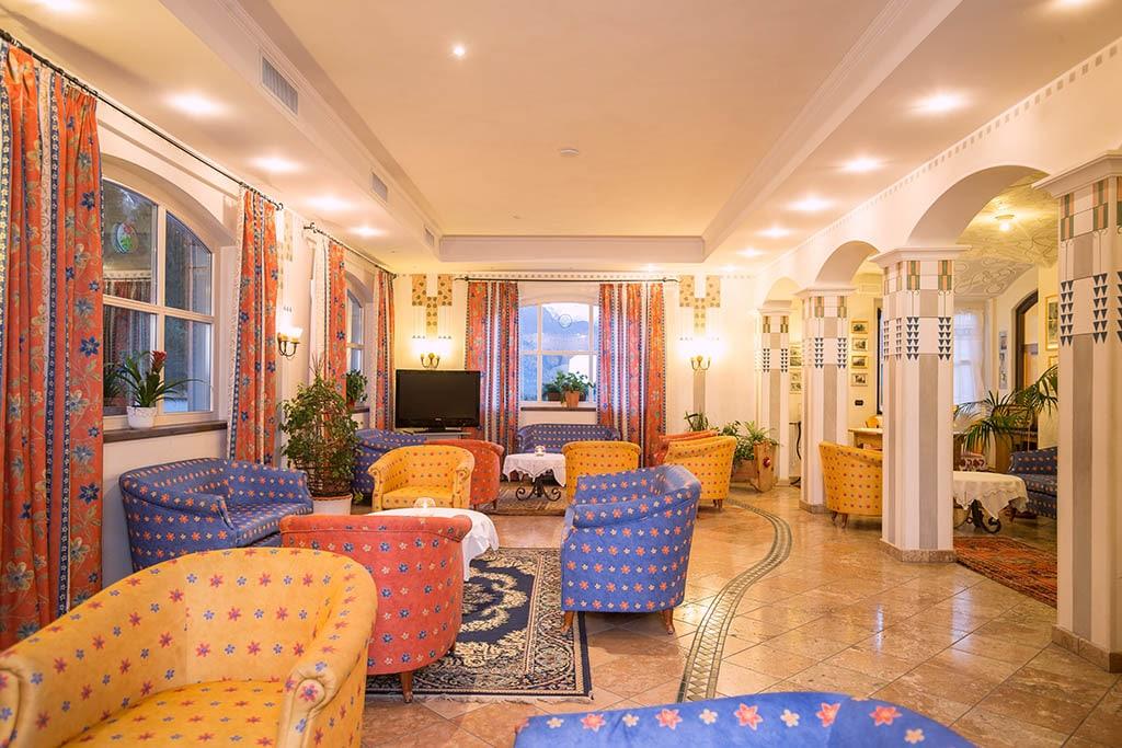 Hotel per famiglie in val di fiemme, Hotel Erica, salotto