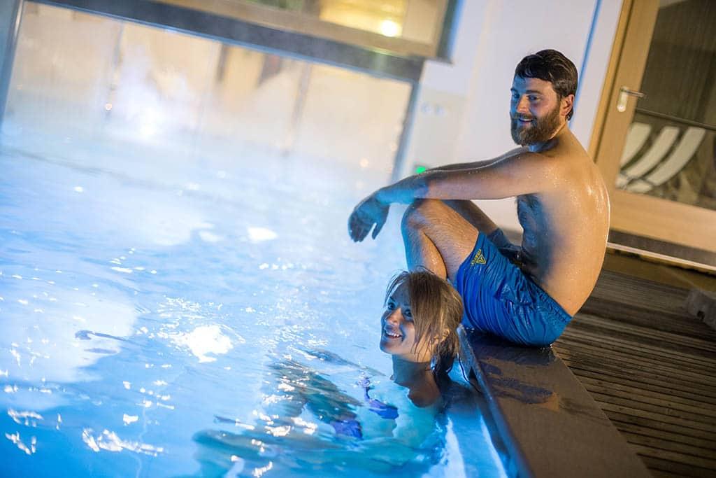 Hotel per famiglie in val di fiemme, Hotel Erica, piscina esterna