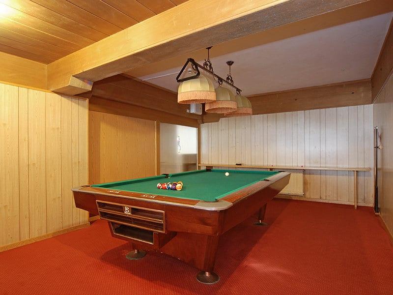 hotel per famiglie in Val di Fiemme, Sport Hotel Pampeago, biliardo