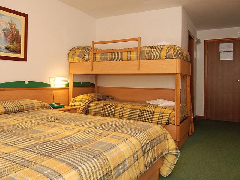 hotel per famiglie in Val di Fiemme, Sport Hotel Pampeago, camera