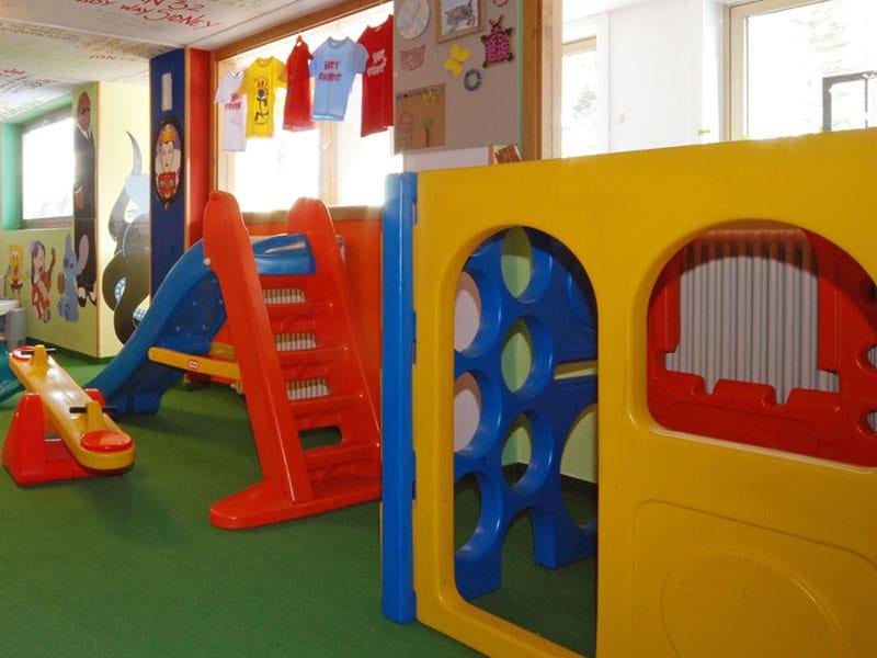 hotel per famiglie in Val di Fiemme, Sport Hotel Pampeago, sala giochi