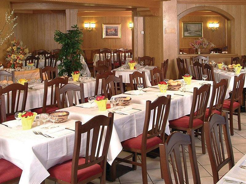 hotel per famiglie in Val di Fiemme, Sport Hotel Pampeago, ristorante