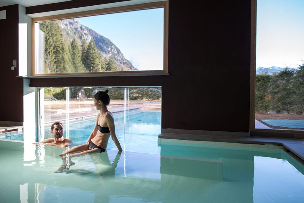 Hotel per famiglie in val di fiemme, Hotel Erica, piscina