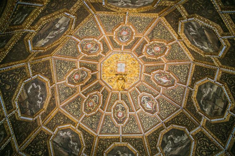 Soffitto A Cielo Di Carrozza: Effetti d nelle chiese del ges e di santu ignazio loyola.