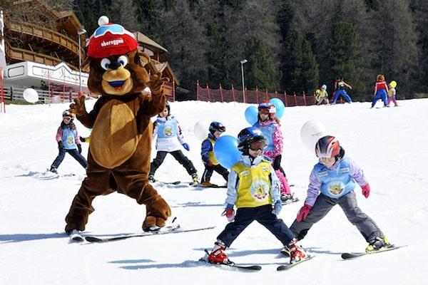 Sciare con i bambini gratis, Alto Adige Val d'Ega