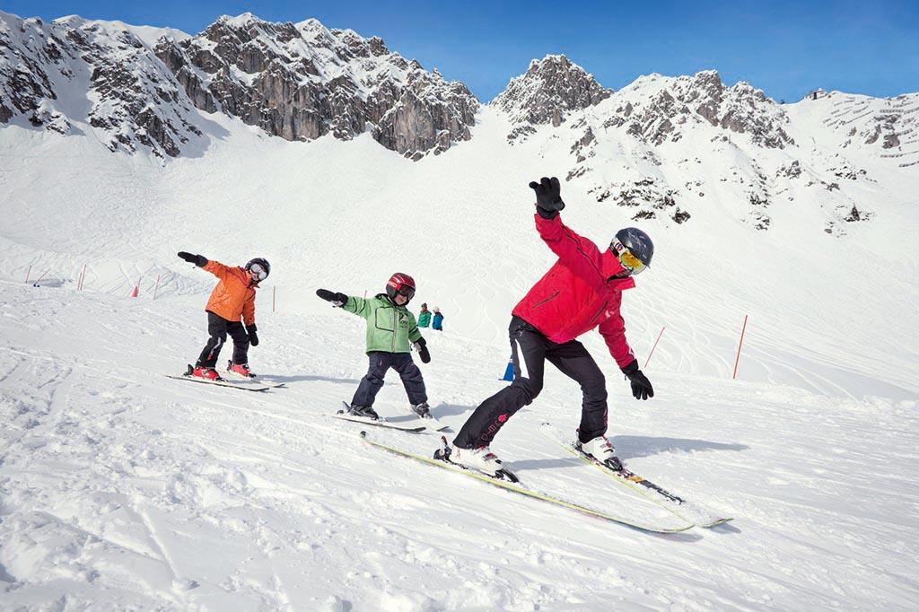 Sciare con i bambini gratis, Austria Tirolo