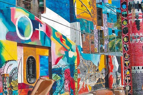Cuba con bambini, murales