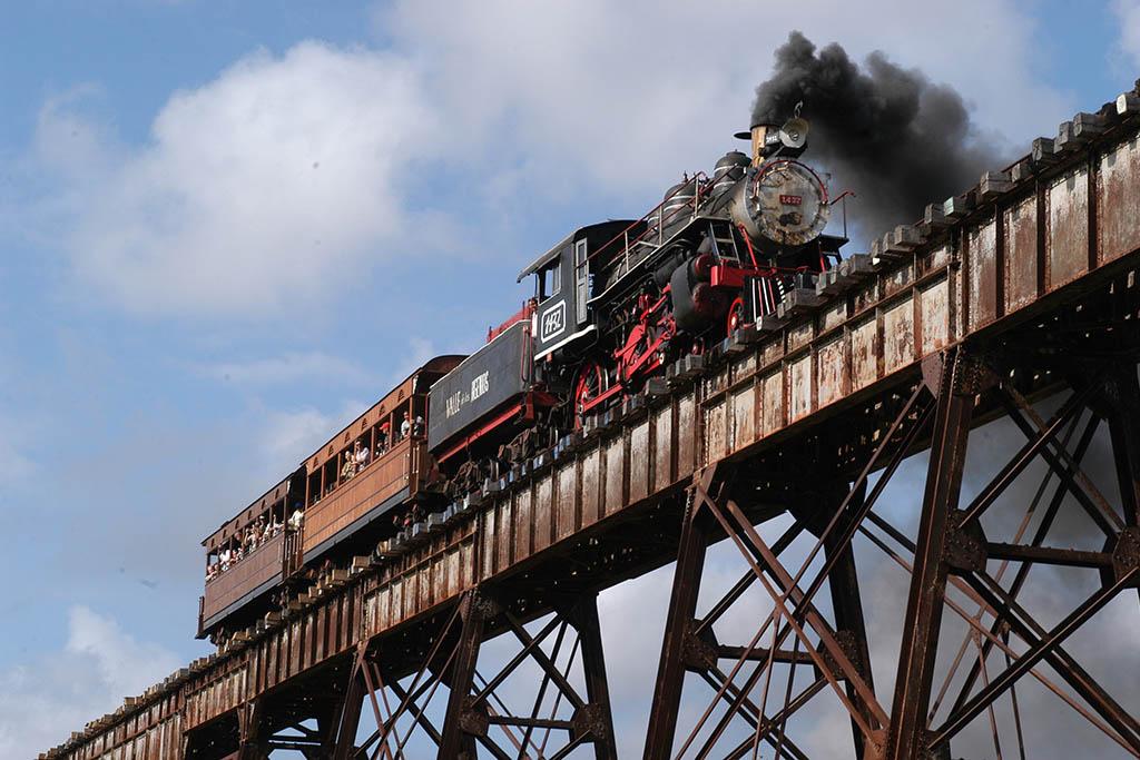 Cuba con bambini, treno a vapore
