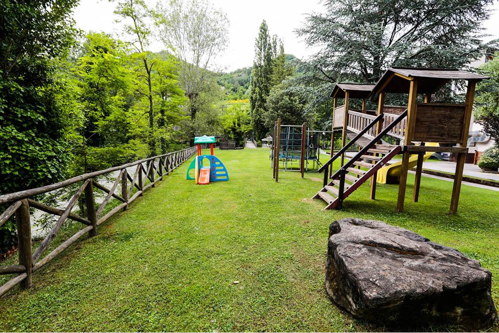 Hotel termale per bambini Bagno di Romagna, Hotel Ròseo, giochi