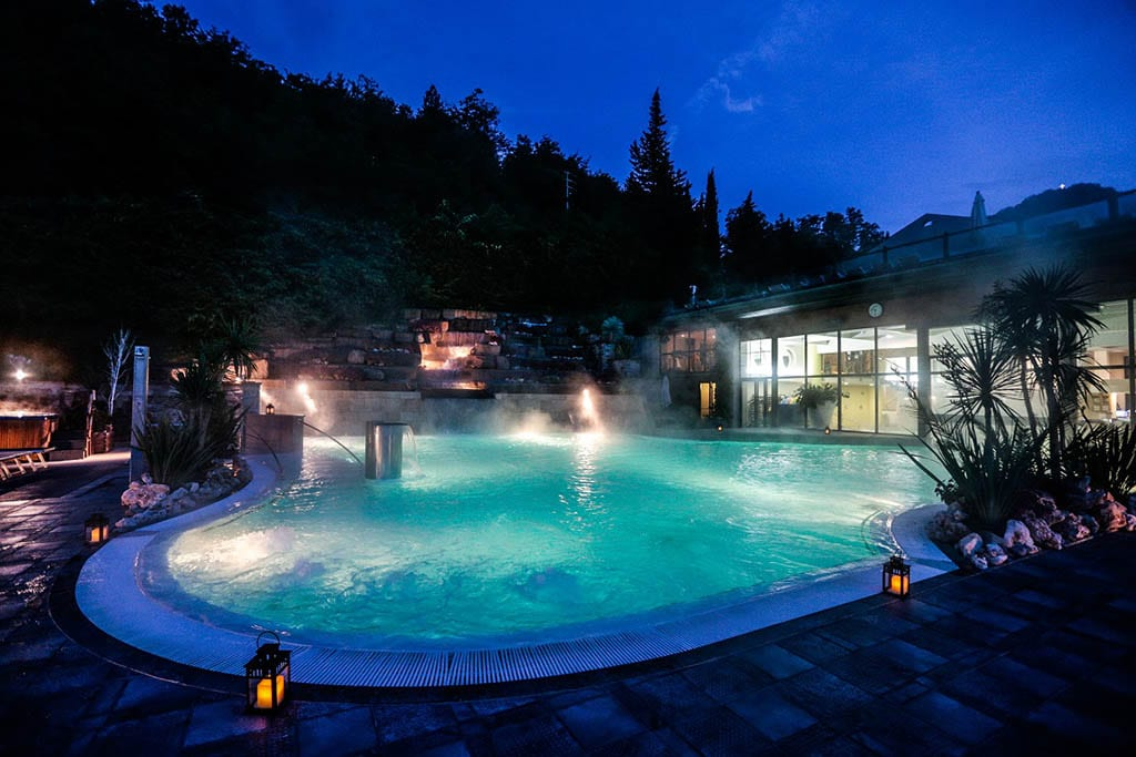 Hotel termale per bambini Bagno di Romagna, Hotel Ròseo, piscina