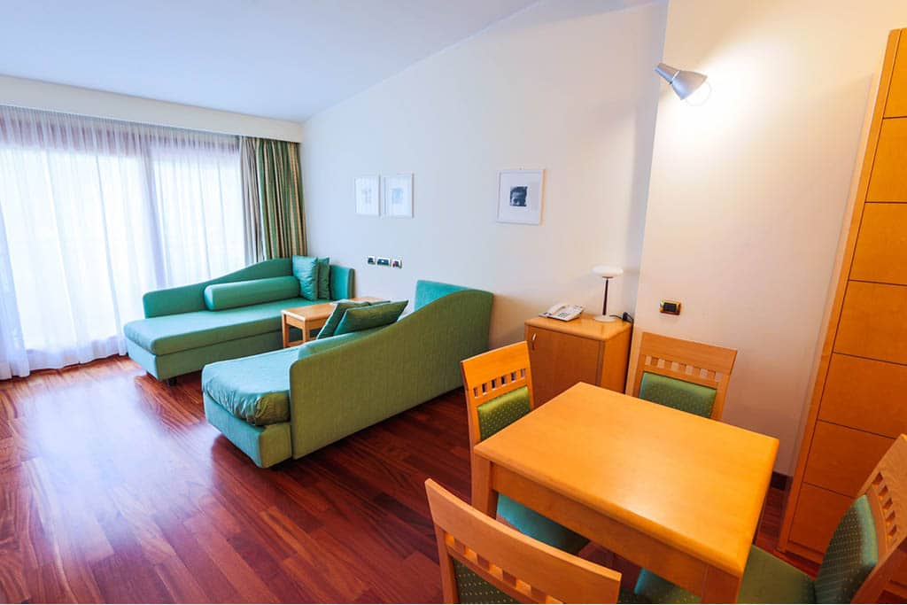 Hotel termale per bambini Bagno di Romagna, Hotel Ròseo, camere