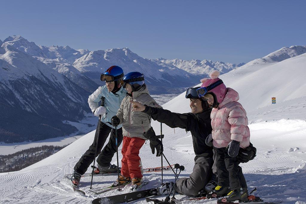 Sciare con i bambini gratis, Svizzera St Moritz