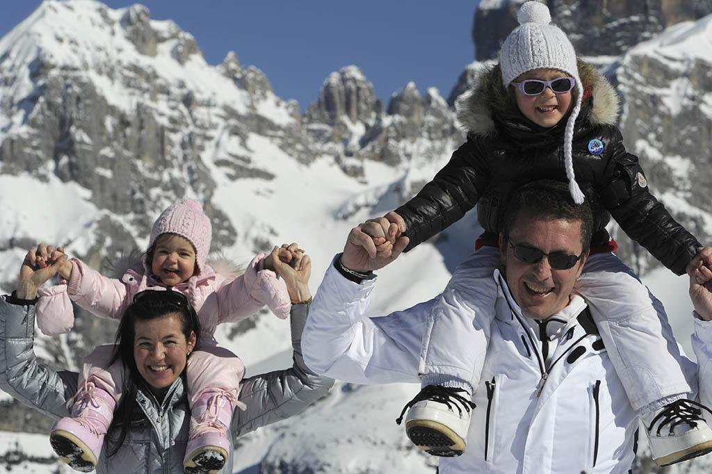 Sciare con i bambini gratis, Trentino