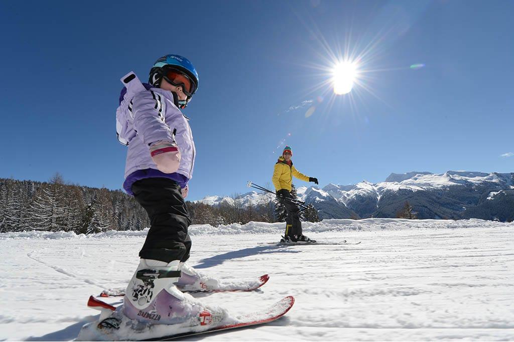 Sciare con i bambini gratis, Trentino, Fiemme