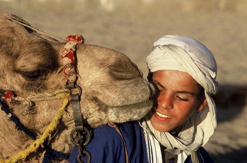 Marocco-Giovane della Regione di Erfoud-ONMT
