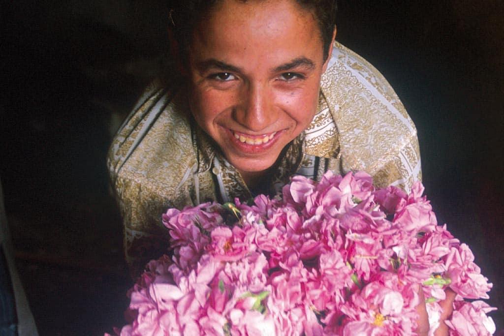 Marocco con bambini, festival delle rose