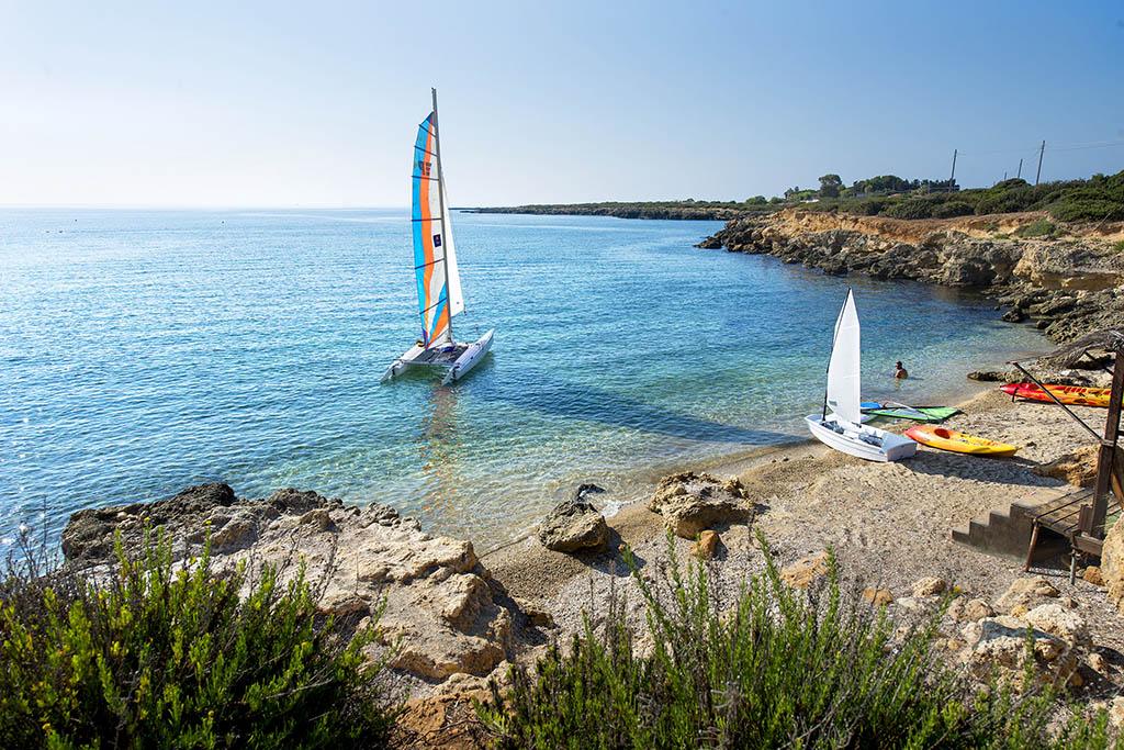Vacanze mare sud: VOI Arenella Resort, nautica
