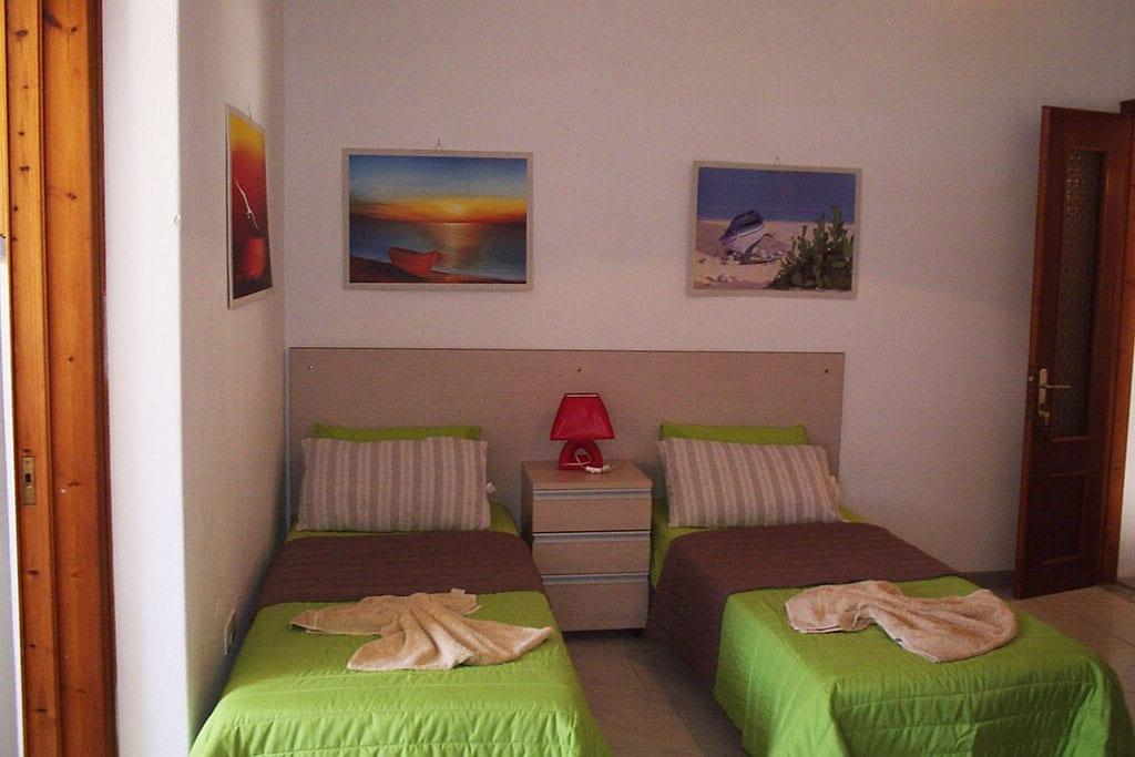 casa vacanze per bambini a Sifnos, Cicladi, Grecia. Appartamenti Evghenia, stanza