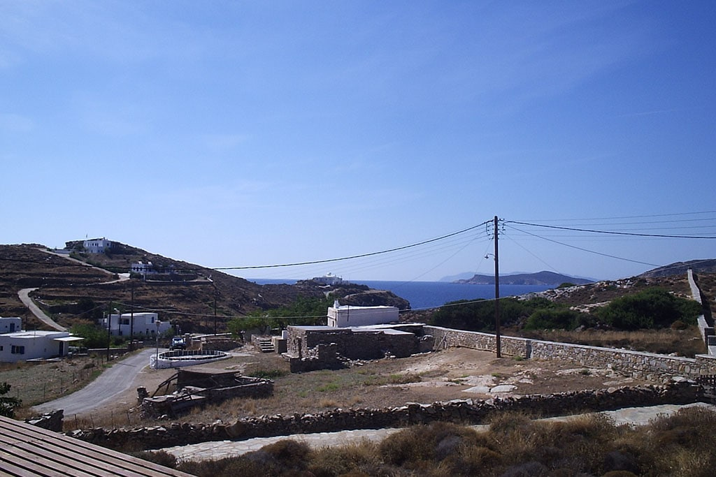 casa vacanze per bambini a Sifnos, Cicladi, Grecia. Appartamenti Markela, panorama