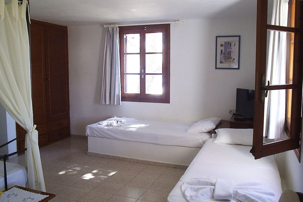casa vacanze per bambini a Sifnos, Cicladi, Grecia. Appartamenti Markela, stanza