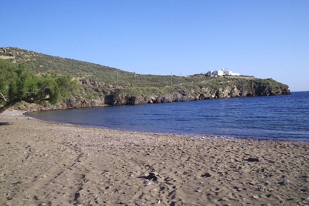 casa vacanze per bambini a Sifnos, Cicladi, Grecia. Spiaggia di Faros