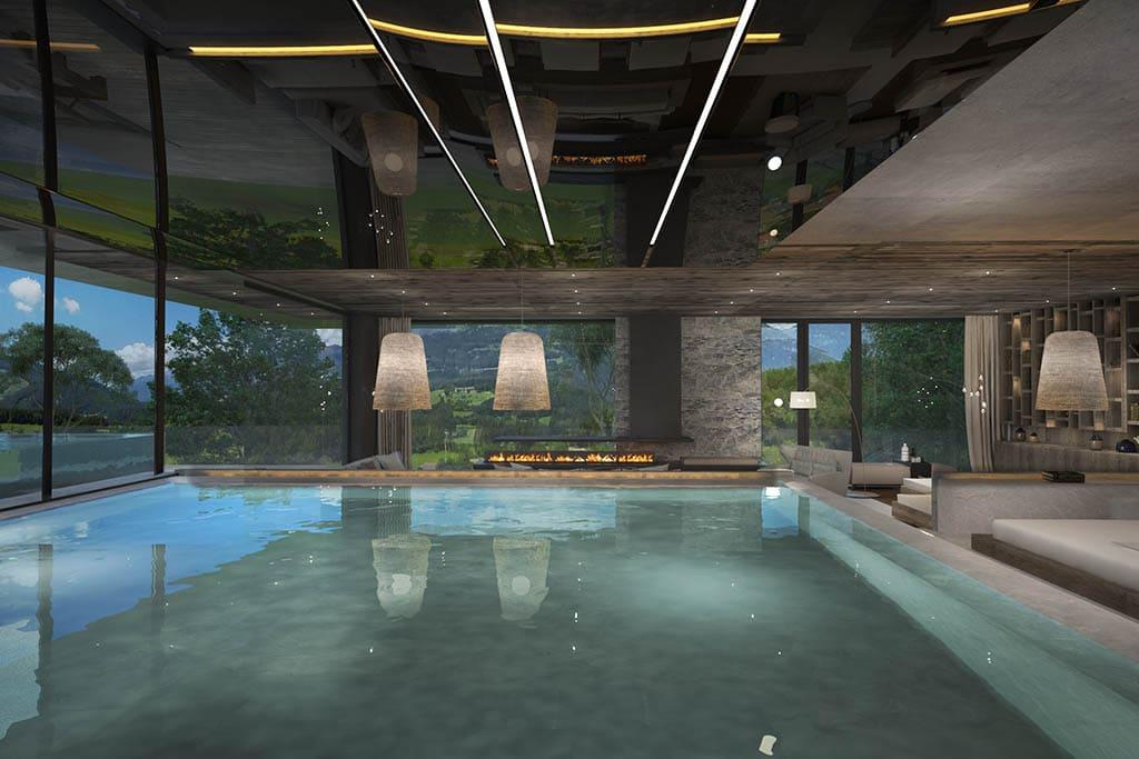Hotel per bambini in Val Pusteria, Hotel Winkler piscina interna