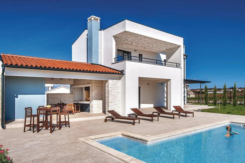 Ville sul mare in croazia case vacanza appartamenti novasol for Foto di case mediterranee