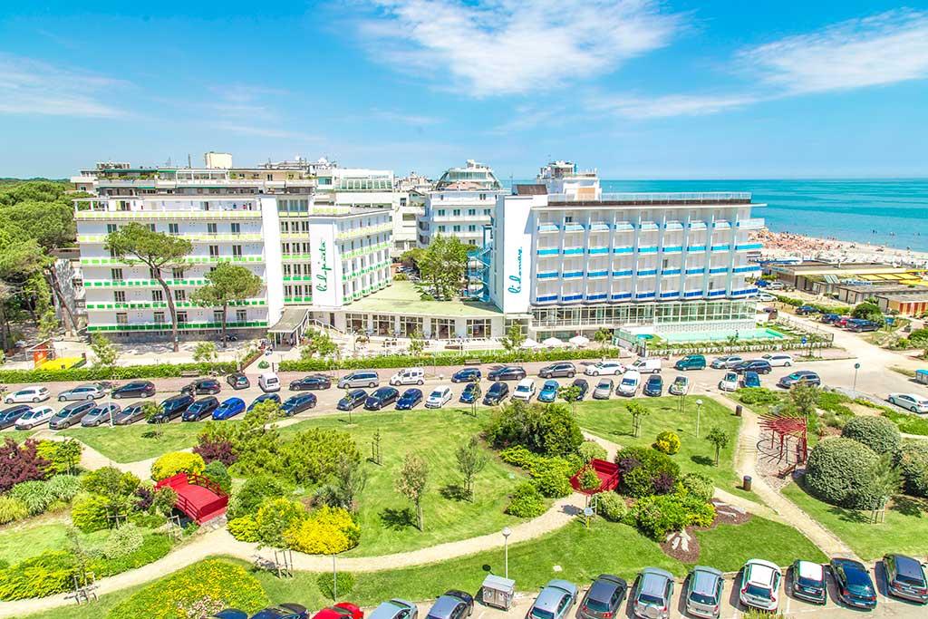 Resort per bambini a milano marittima family beach resort lido - Hotel con piscina coperta milano marittima ...