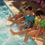 Hotel per bambini in Liguria, Hotel Raffy piscina