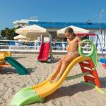 Hotel per bambini a Giulianova in Abruzzo, Hotel Zenit, giochi spiaggia