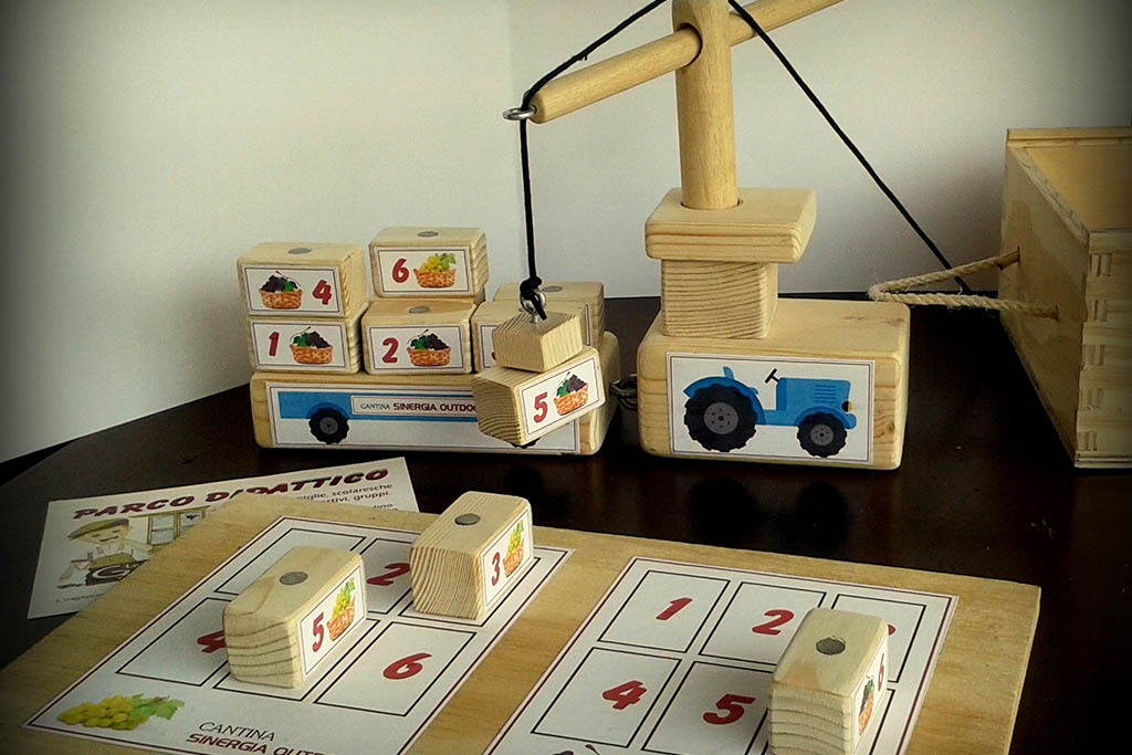 Le cantine dei bambini, ciclo di eventi nelle Langhe, giocattoli in legno