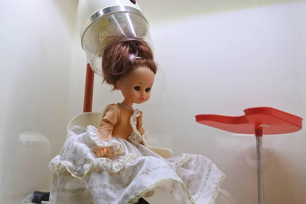 Parco Museo Piana delle Orme a Latina, giocattoli d'epoca