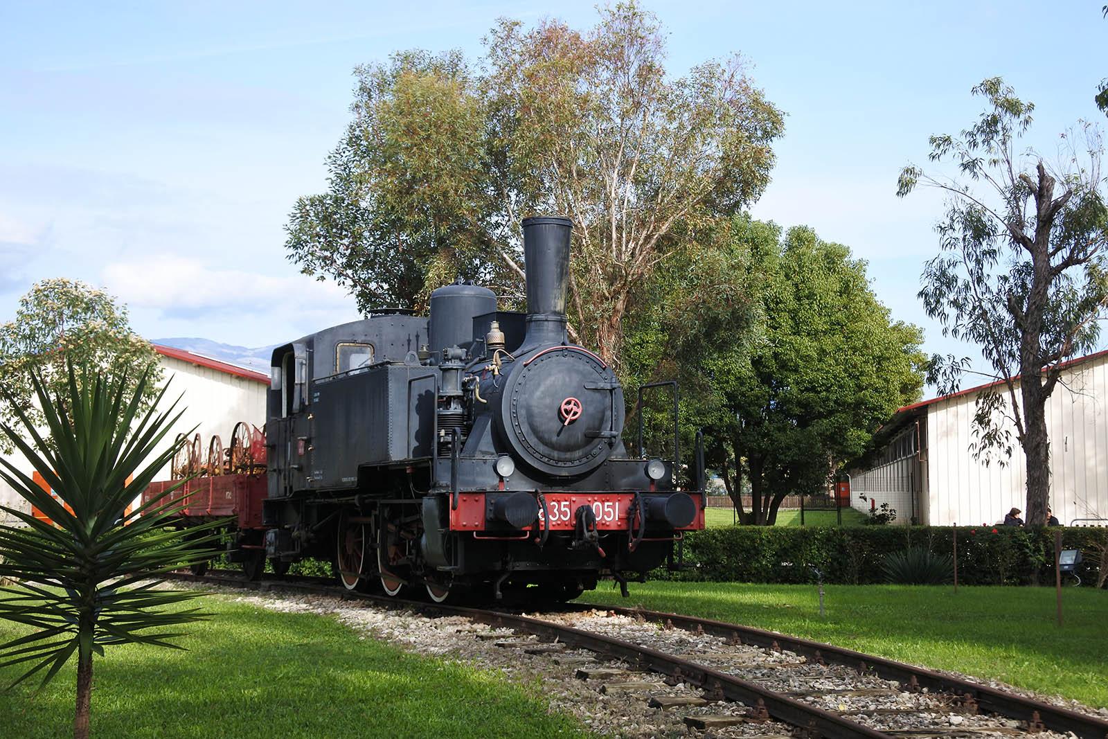 latina-parco-museo-piana-orme-locomotiva