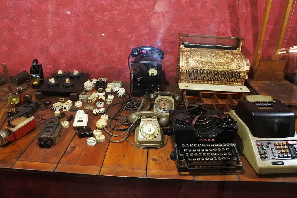 Parco Museo Piana delle Orme a Latina, oggetti d'epoca