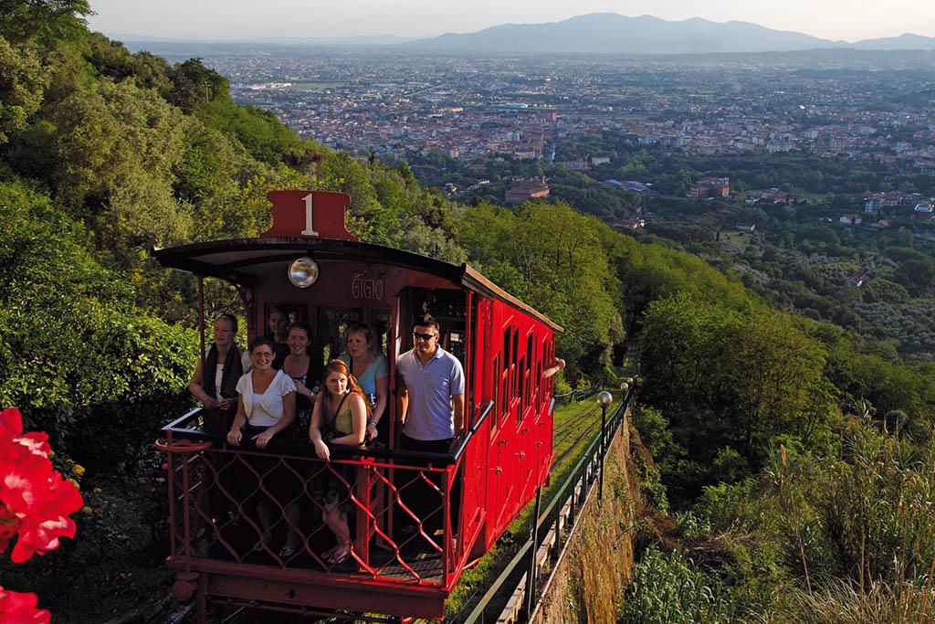 Evento open week Kids in Toscana: funicolare di Montecatini Terme