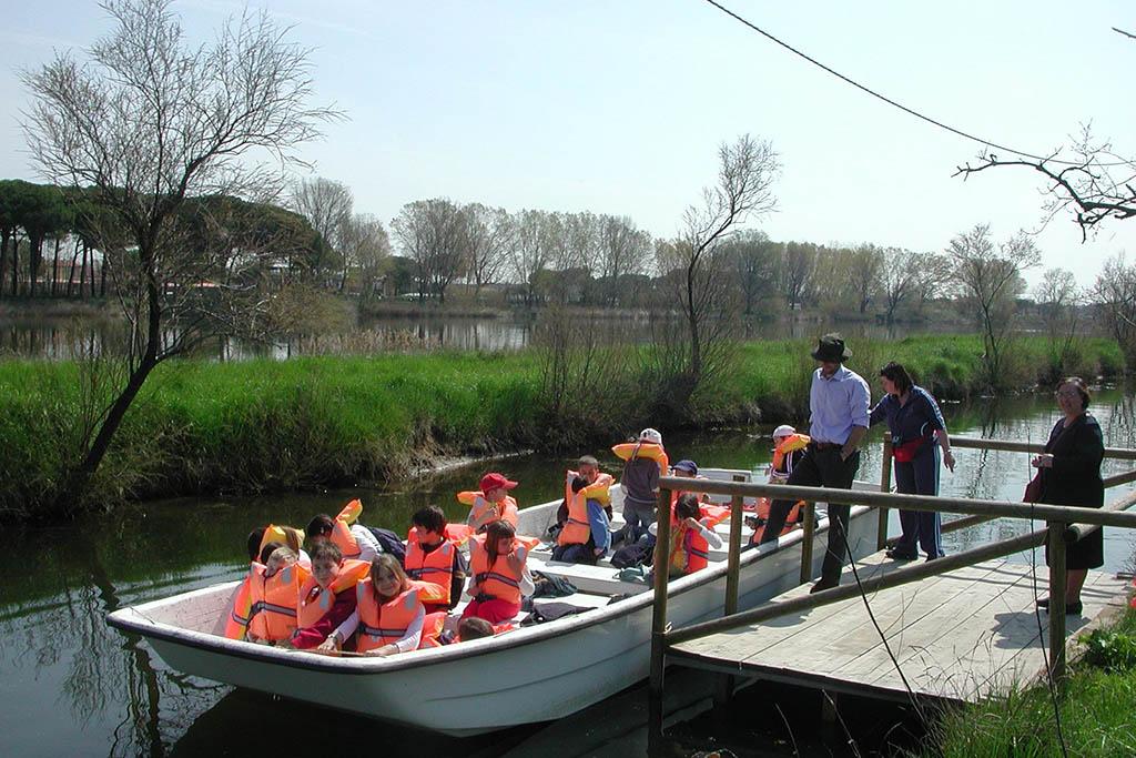 Milano Marittima con bambini, Salina di Cervia, gite in barca