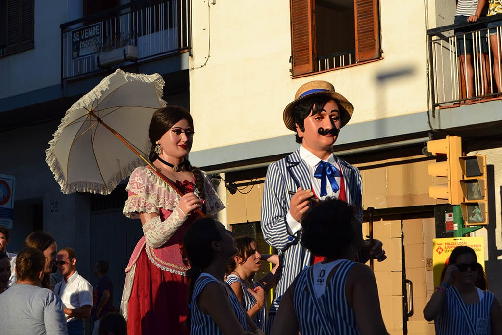 Costa Brava con bambini, festa major