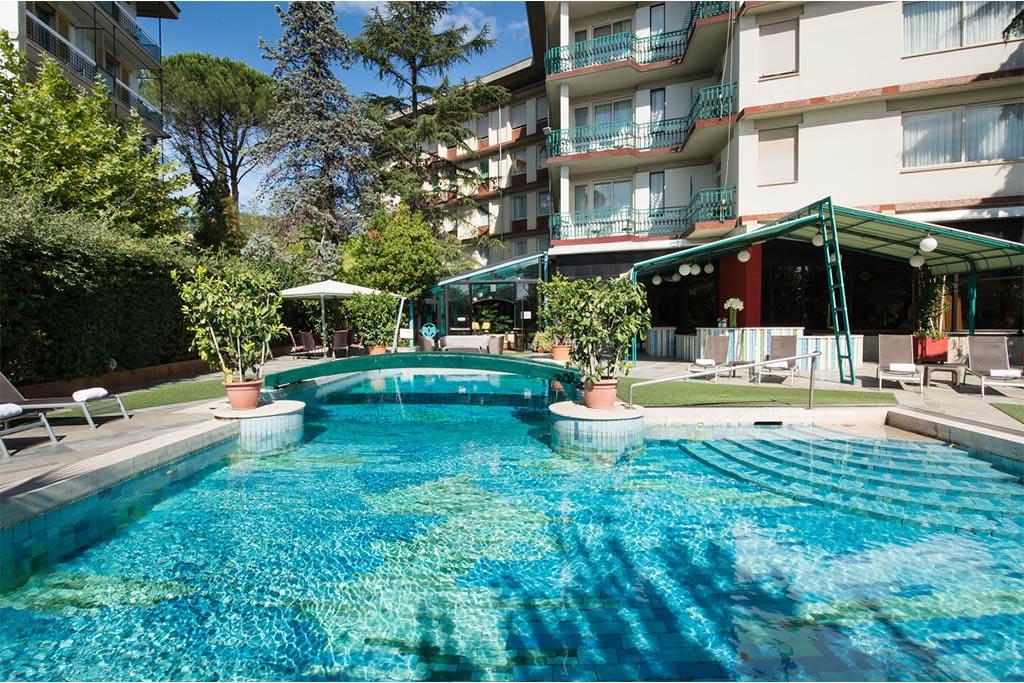 Grand Hotel Panoramic In Montecatini Terme