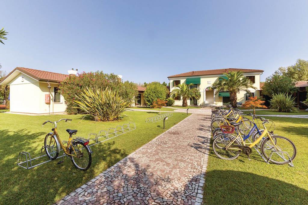 Case vacanza Albarella, casa con bici