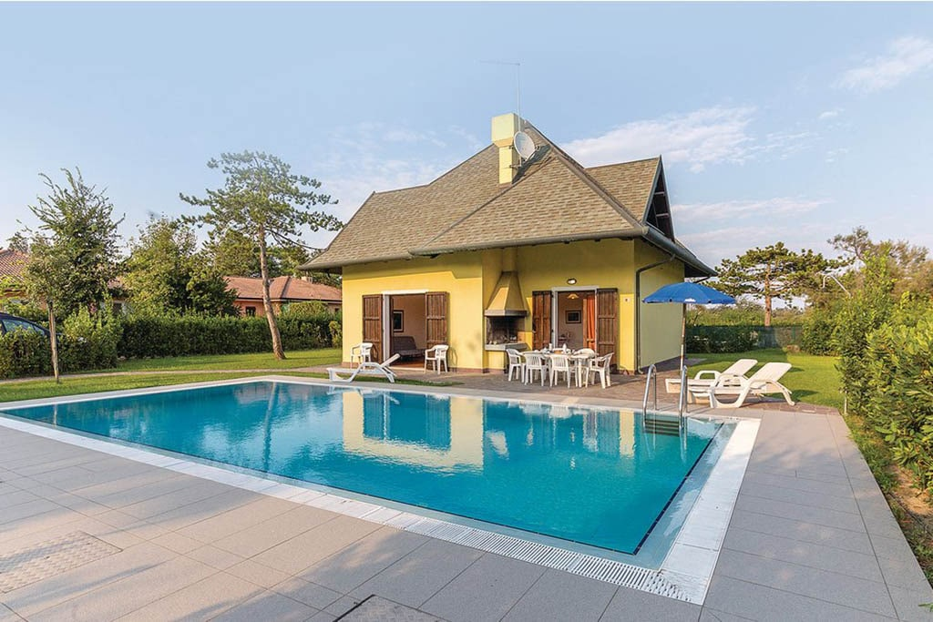 Case vacanza Albarella, casa con piscina
