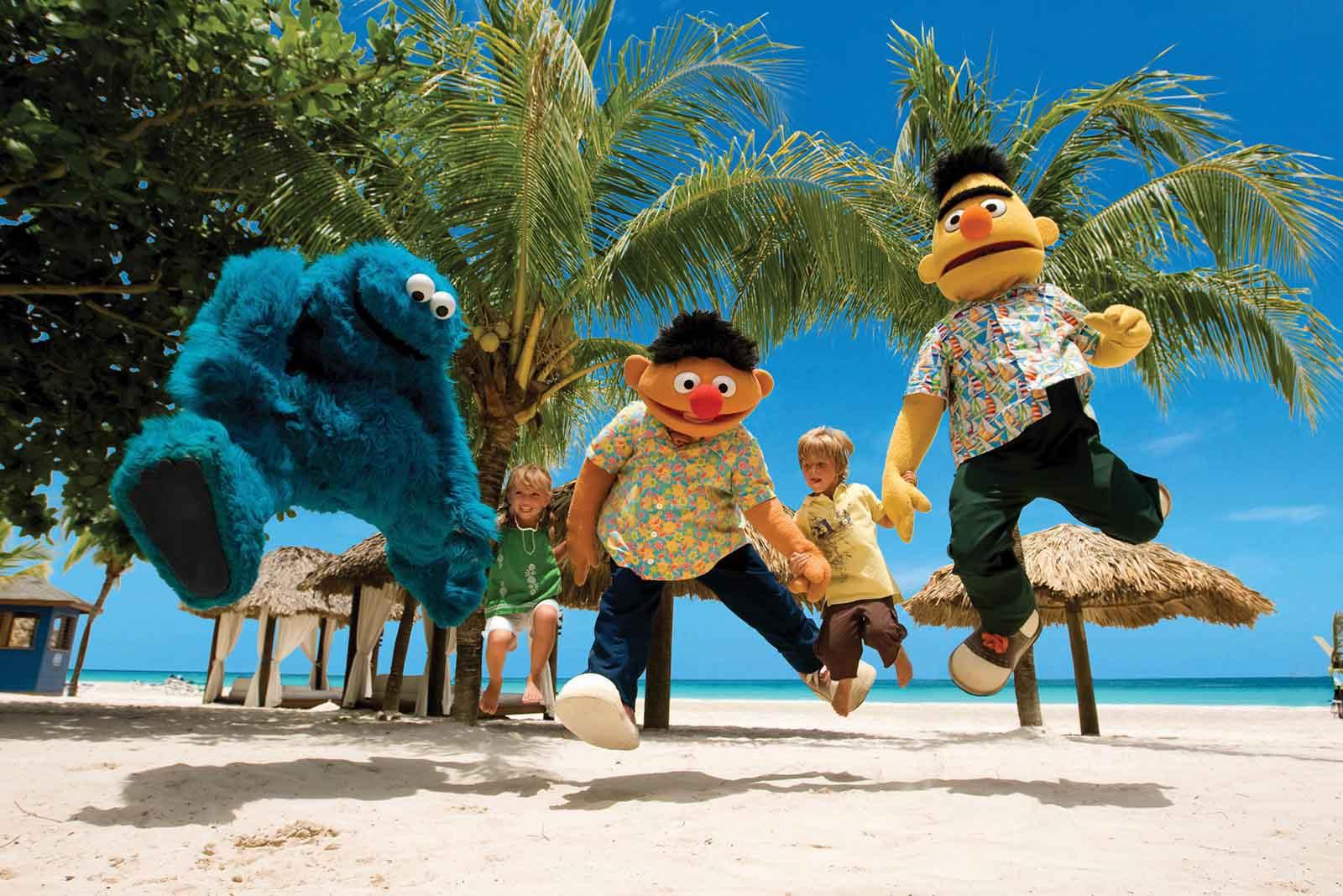sandals-resort-Sesame Street1