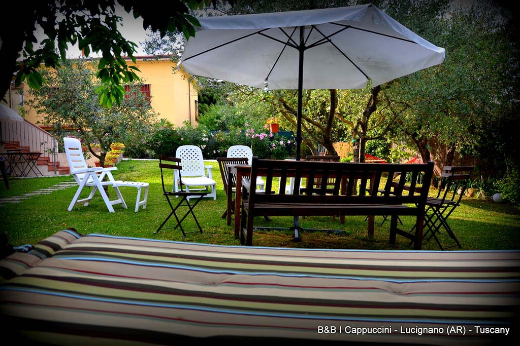 B&B in toscana per famiglie B&B I Cappuccini, giardino