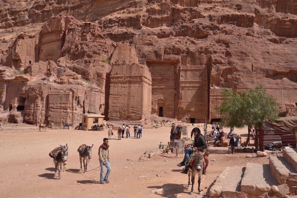 Petra, un sito di 264.000 metri quadrati