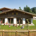 Hotel per bambini in Tirolo, AktivHotel Veronika a Seefeld, esterno